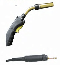 Bernard 300A CO2 mig welding torch and consumables