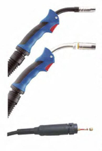 Mig welding torch Binzel 15AK and welding consumables